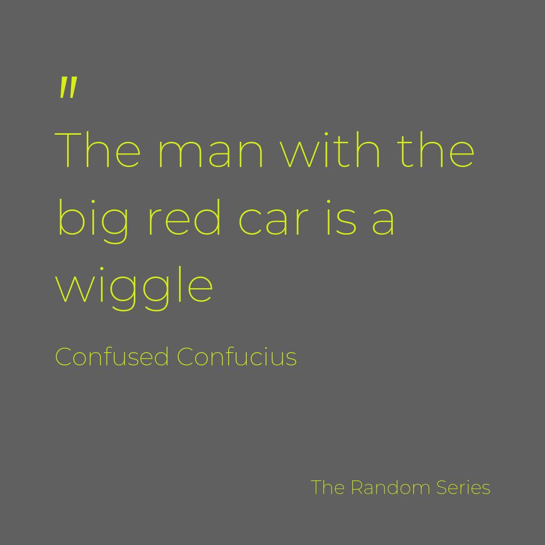 Not ever red car is a Ferrari